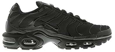 nike air max plus mens trainers 604133 sneakers shoes (uk 8.5 us 9.5 eu 43, black black black 050)