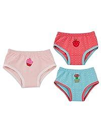 Joyo roy Unisex Baby Potty Training Undies Cotton Strawberry Diaper Pants Pack of 3