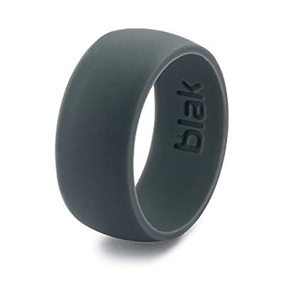 Blak Premium Silicone Wedding Ring for Men - Unique Slimline Design