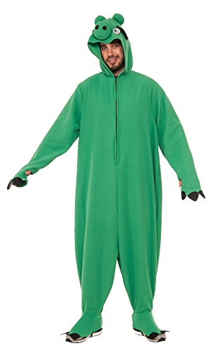 Pig In A Halloween Costume (Rubie's Costume Co. Men's Angry Birds Movie, Leonard Pig Costume, As Shown, X-Large)