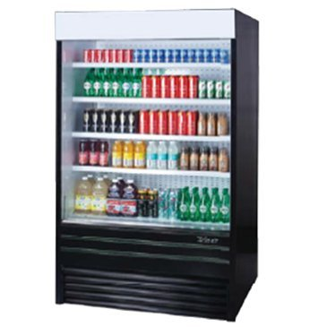Turbo Air TOM-60E Vertical Open Display Merchandiser