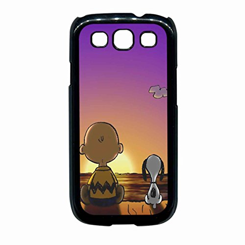 Snoopy And Charlie Brown Sunset Case Samsung Galaxy S3 (Samsung Galaxy S3 Cases Snoopy)