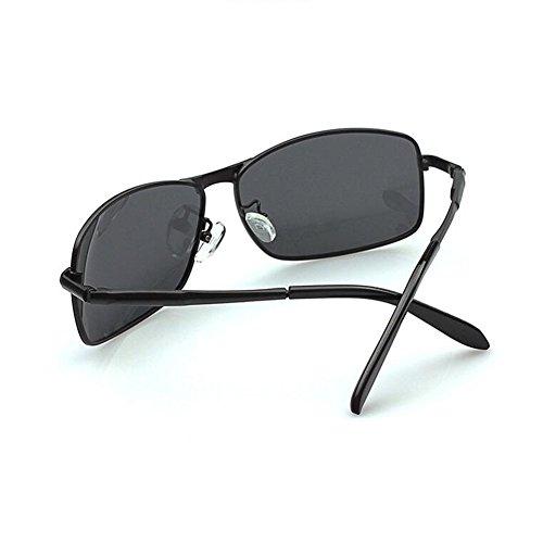 Color Calidad Gafas Marco lens Arma color gray Black lens Gafas De Para Polarizadas Gun Marco HONEY gray Hombres Negro De Sol Color Deportivas De Alta Cuadradas U8wqxpdF