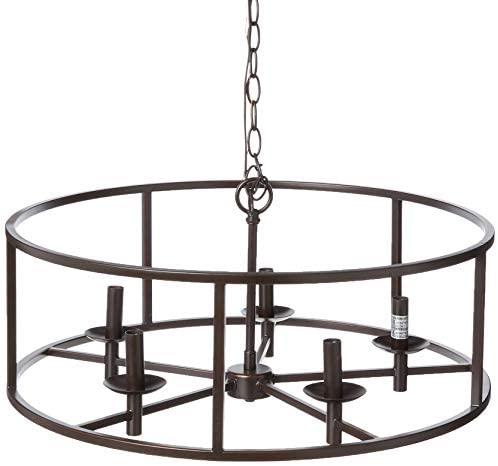 Kenroy Home Rustic 5 Light Chandelier ,11.5 Inch Height