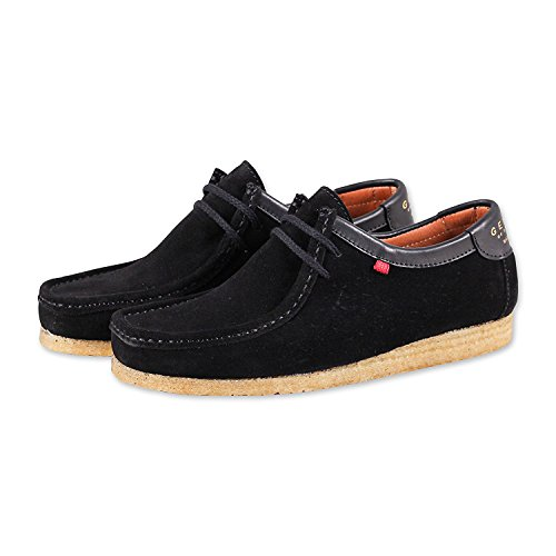 Genesis Dark Low Suede Black Brown Djinns advqwFq