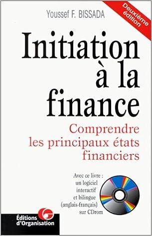 Read Online Initiation à la finance pdf