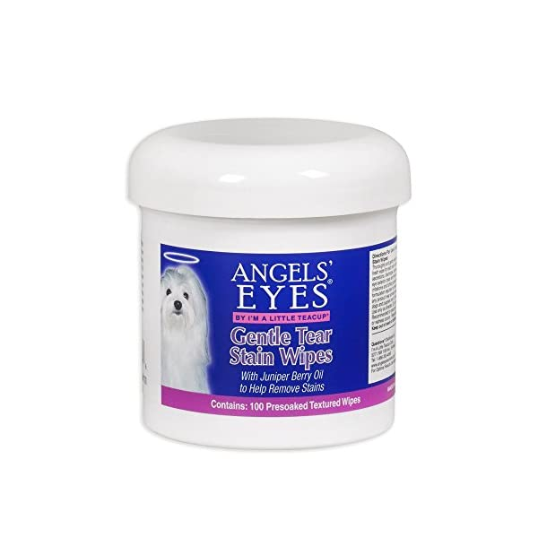 Angel's Eyes Gentle Tear 100 Presoaked Textured Stain Wipes 1