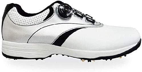 ゴルフシューズ、技術のロック爪アウトドアカジュアルシューズメンズ&ウィメンズ (Color : Black, Size : 44EU)