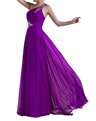Robes De Demoiselle D'honneur Paradis Papillon Violet À Long