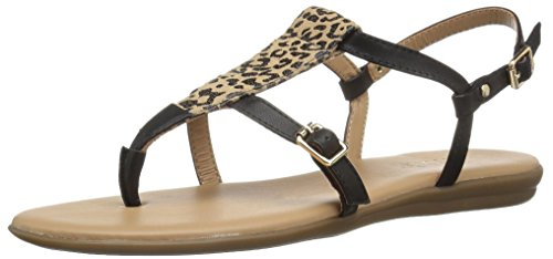 Aerosoles Women's Obstachle Course Gladiator Sandal, Leopard Combo, 9 M - Print Animal Combo