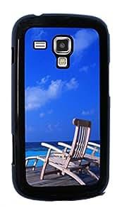 Sunshine beach island Hard Case for Samsung Galaxy S Duos S7562 ( Sugar Skull )