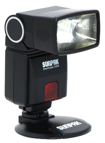Sunpak Digiflash 3000 Electronic Flash for Canon DSLR Cameras