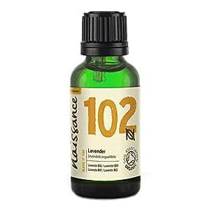 Naissance Aceite Esencial de Lavanda BIO 30ml - 100% Puro, certificado ecológico, vegano y no OGM