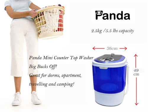 Amazon.com: Bonus Package Panda Small Mini Portable Compact Washer ...