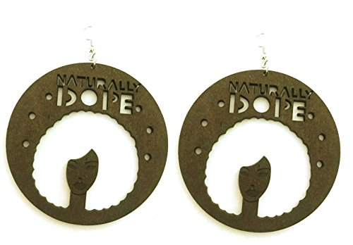 Glitz And Glamour Outfits (Naturally Dope Earrings (Dark)