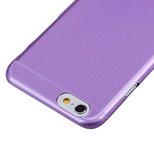 Momax Ultra Thin Series Clear Breeze Case Cover Skin For Apple iPhone 6 (purple)