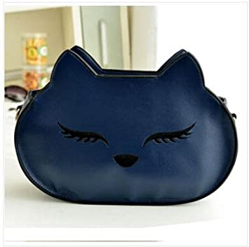 Amazon.com: Azul marino Fashion Fox Mujer Lindo Bolso de ...
