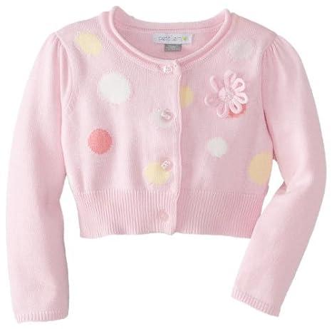 Petit Lem Baby-Girls recién nacido Jersey de bebé de flores de ...