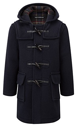 Kids Classic Duffle Coat (Toggle Coat) in Navy (10-13Y)