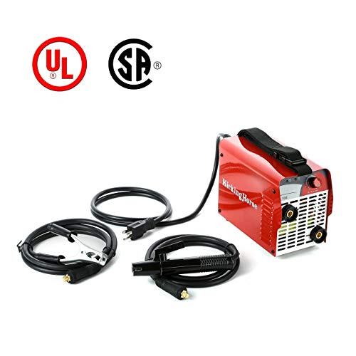 ARC STICK Welder 110V KickingHorse A100. 100A IGBT Inverter Designed to Run-off 15/20A US Home Circuit. Ideal for Beginners and Home Use w/Extra Protection for Safe Welding in Residential Household (Best Arc Welder For Home Use)