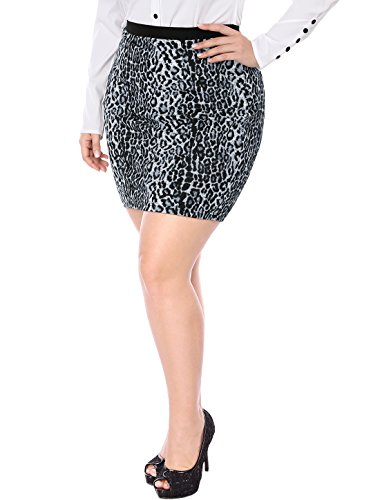 Leopard Stretch Skirt - 4