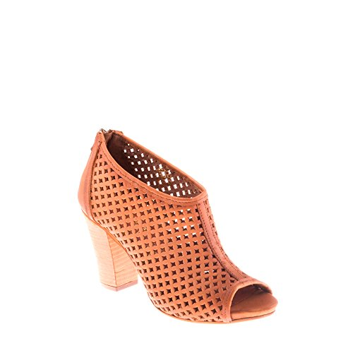 Braga Genuino Marrón Enamorarse Mujer Cuero Felmini Para 8782 Com Zapatos Sandalias Claro zq6W7X