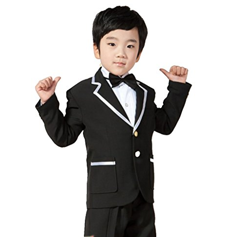 MLT Boy's Suits Notched Lapel Party Prom Wedding Tuexdos (L) by MLT