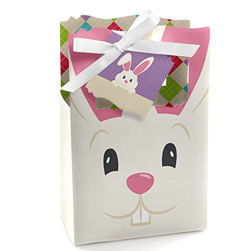 Hoppity Bunny - Hippity Hoppity - Easter Bunny Party Favor Boxes - Set of 12
