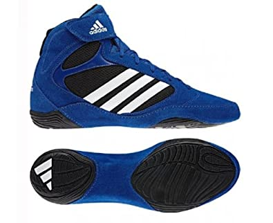 adidas Pretereo 2 Scarpa da Lotta Azzurro Adulto, Blu, 40 2