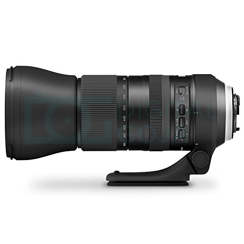 4165MnQljwL - Tamron SP 150-600mm F/5-6.3 Di VC USD G2 Lens for CANON DSLR Cameras w/Tamron Tap-in Console and Essential Photo and Travel Bundle