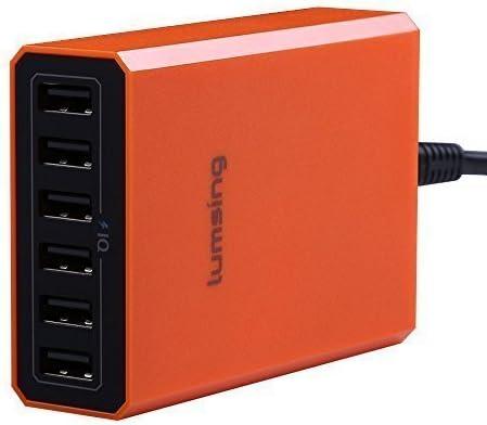 Lumsing 6 Port Desktop Usb Charger 60w Mains Charging Amazon Co Uk Electronics