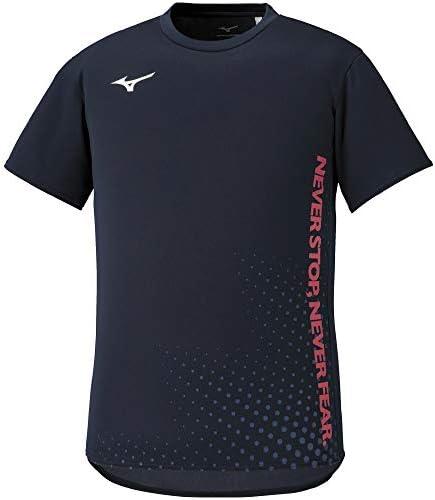 陸上ウェア グラフィックTシャツ 半袖 吸汗速乾 スタンダード U2MA0013