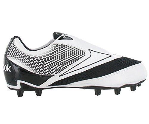 Reebok U-Form 4Speed Low M4 Herren Weiß / Schwarz Fußballschuh Weiß schwarz