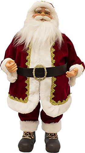 Immagini Natale Movimento.Joy Christmas Babbo Natale Con Musica E Movimento 60 Cm Classico