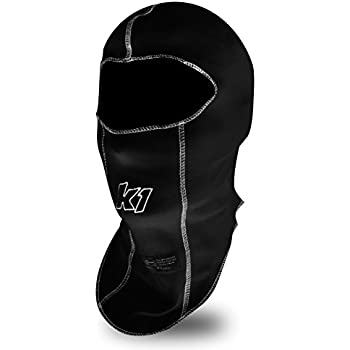 K1 Race Gear Single Layer Nomex Head Sock/Balaclava (Black) (26-SLH-N)