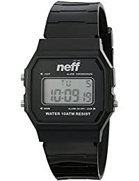 Unisex NF0226BLCK Flava XL Surf Digital Display Chinese Automatic Black Watch