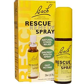 RESCUE REMEDY SPRAY, 20mL – Natural Homeopathic Stress Relief