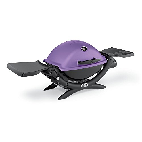 Weber 51200001 Q1200 Liquid Propane Grill, Purple