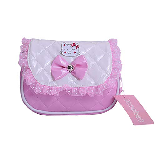 5b7b184f17a6 Girl s Disney Hello Kitty Bag Kids Princess Shoulder Bag Crossbody Purse  Cartoon Animal Preschool Messenger Handbag