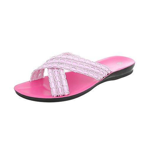 Pink suunnittelu Sandaalit Tasainen Ital Muulit Naisten wxCzZxfT