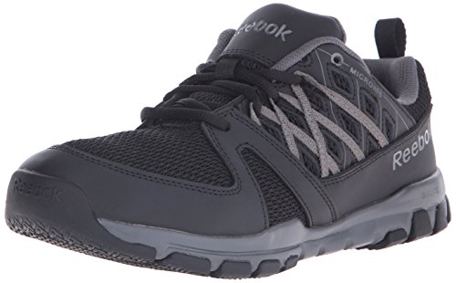 Reebok Work Men's Sublite RB4015 Work Shoe, Black, 9.5 M US