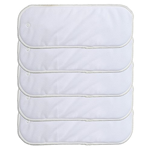 10 Pack Insert with Snap for Cloth Diaper Covers (10 Pack Insert with Snap)