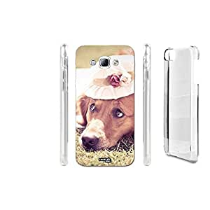 FUNDA CARCASA DOG GIRL HAT PARA SAMSUNG GALAXY A8 SM-A800I