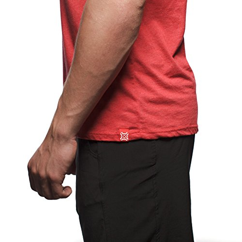 Men's T-Shirt, Heather Red, X-Large