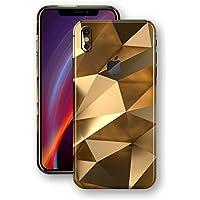 GADGETS WRAP iPhone Xs MAX Signature Gold Mirror Skin - 84
