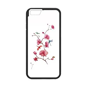 iPhone 6 Plus 5.5 Inch Cell Phone Case Black Orchids knkm
