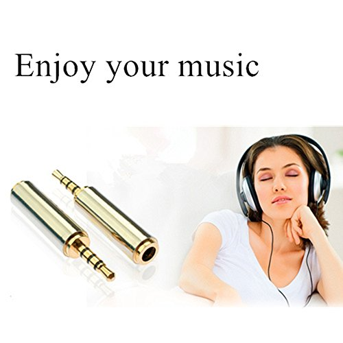 Gold Audio Plated Awanka 5mm to 5mm 3 Male Stereo 2 RLj3A54