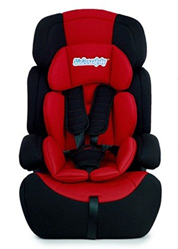 Kinderautositz kinderplay Farbwahl Autokindersitz 9-36 kg Autositz Kindersitz Gruppe 1 2 3 Neu (KP0028N Red)