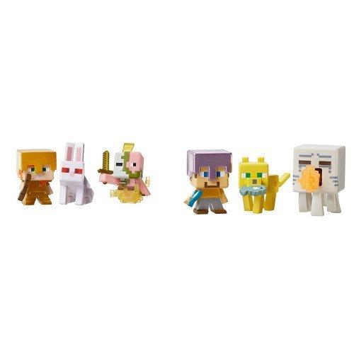Minecraft Mini Figure 3 Pack Spawning product image