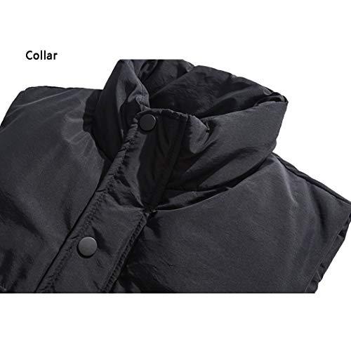 poches Créative Hiver Hommes Vestes Multi Sans Noir Automne D'outillage Unie Simple Gjfeng Couleur Style Pour Veste Et Manches O46wR4qH